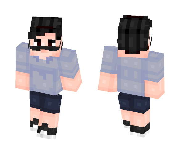 Filthy Frank - Male Minecraft Skins - image 1
