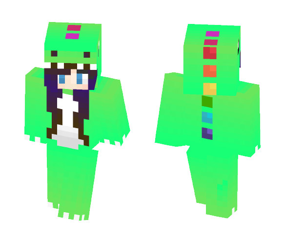Dinosaur - Female Minecraft Skins - image 1