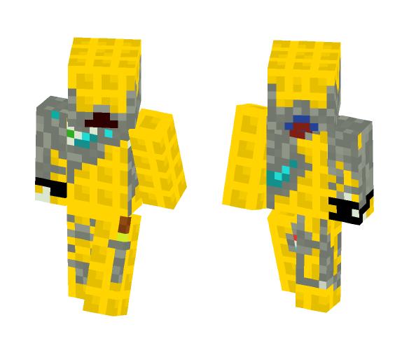 Waffle Cyborg - Interchangeable Minecraft Skins - image 1
