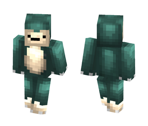 Snorlax Serious - Male Minecraft Skins - image 1