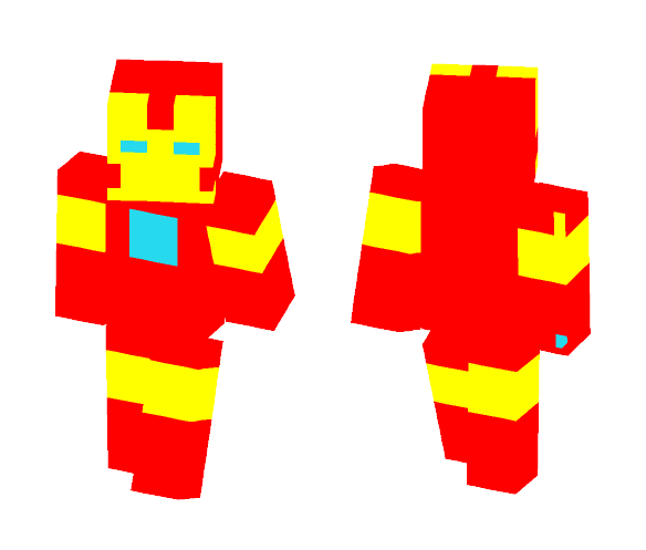 Iron man - Male Minecraft Skins - image 1