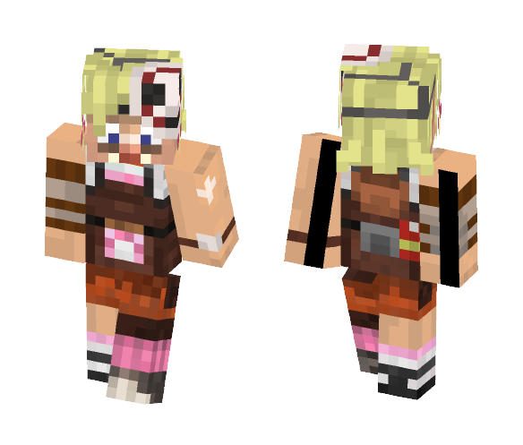 Tiny Tina mad and tiny Borderlands - Female Minecraft Skins - image 1