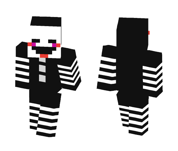 the puppet (take off the mask) - Female Minecraft Skins - image 1