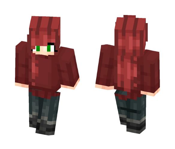 Tried to make Scarlet Benoit - Female Minecraft Skins - image 1