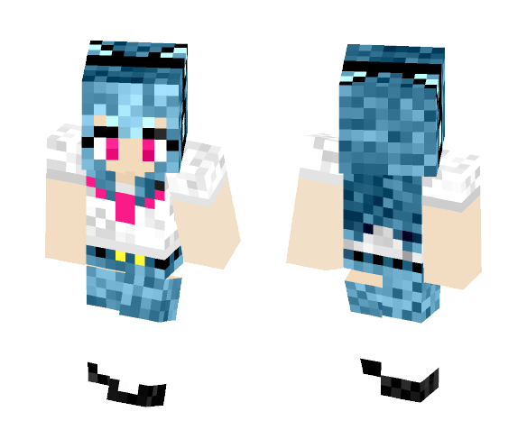Schoolgirl - Female Minecraft Skins - image 1