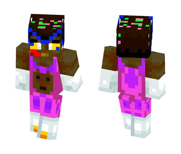 VEGETA SUPER SAYIAN 69! - Interchangeable Minecraft Skins - image 1