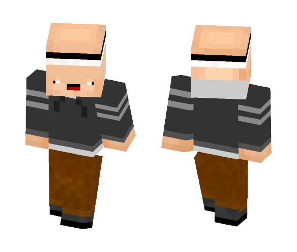 SilentDanger Armorsmith - Male Minecraft Skins - image 1