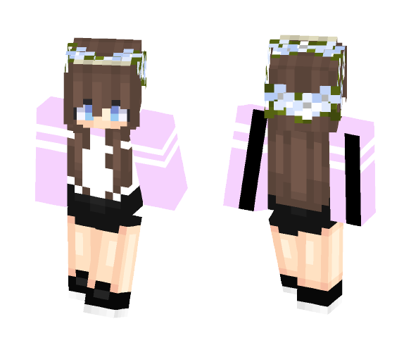 For tbhlana aka Lanapai - Female Minecraft Skins - image 1