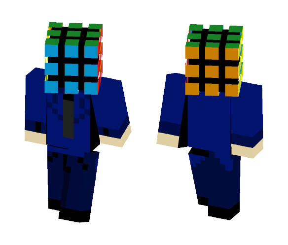 Mr. Rubix Cube - Male Minecraft Skins - image 1