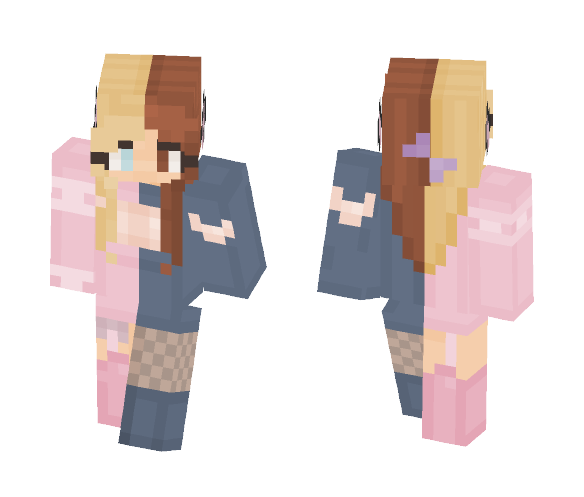 Difference - Female Minecraft Skins - image 1