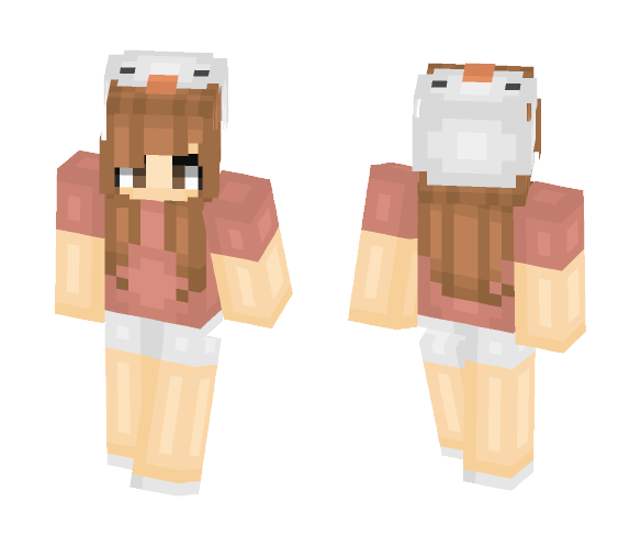 hats are cool I guess - Female Minecraft Skins - image 1