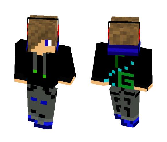 Headphone kid - Male Minecraft Skins - image 1