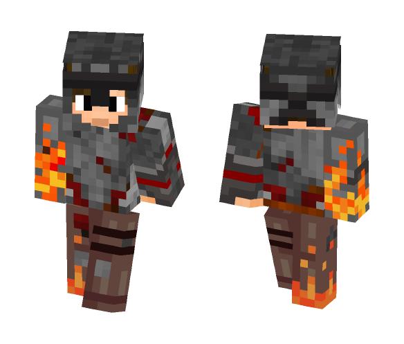 Robot Knight - Male Minecraft Skins - image 1