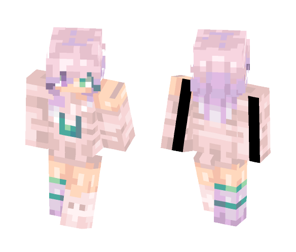 Light as a cloud - Female Minecraft Skins - image 1