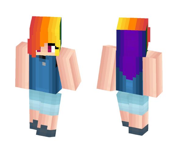 Rainbow Dash - Female Minecraft Skins - image 1