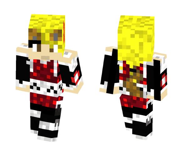 wolf ninja girl - Girl Minecraft Skins - image 1