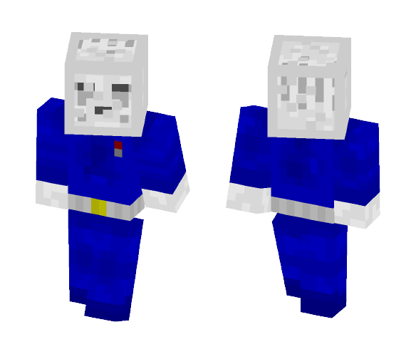 Space Ghast - Male Minecraft Skins - image 1