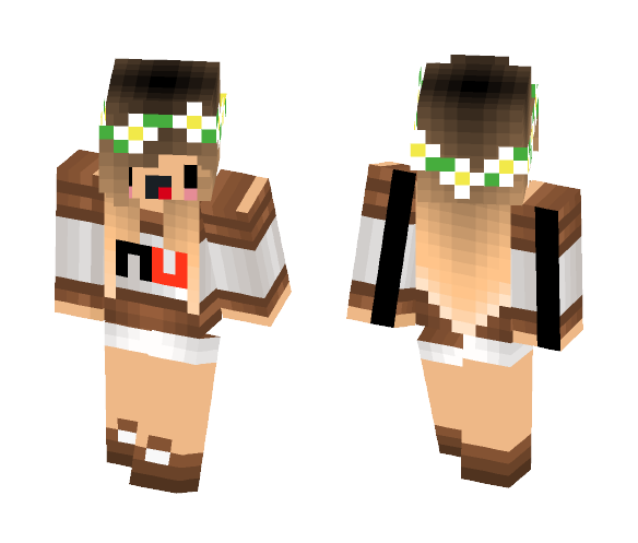 Nutella Girl - Girl Minecraft Skins - image 1