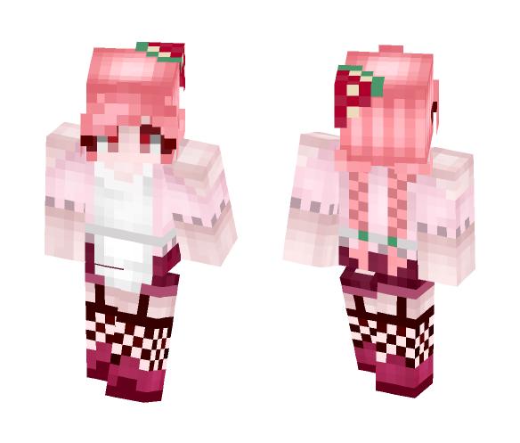 Did someone say strawberries? - Female Minecraft Skins - image 1