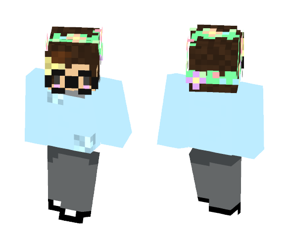 Got Bored o-o - Interchangeable Minecraft Skins - image 1