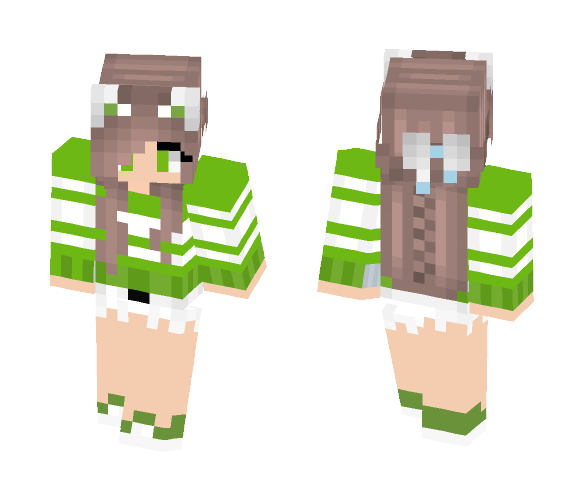 Going Green! - Female Minecraft Skins - image 1