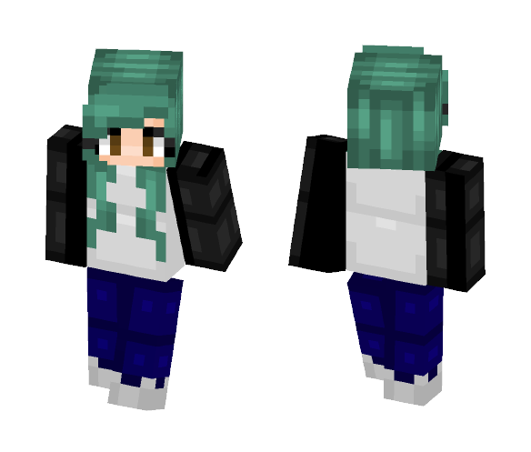 I Need a Sign, I Need a Miracle - Female Minecraft Skins - image 1