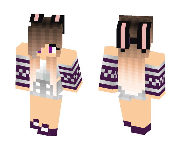 Bunny Girl! - Female Minecraft Skins - image 1