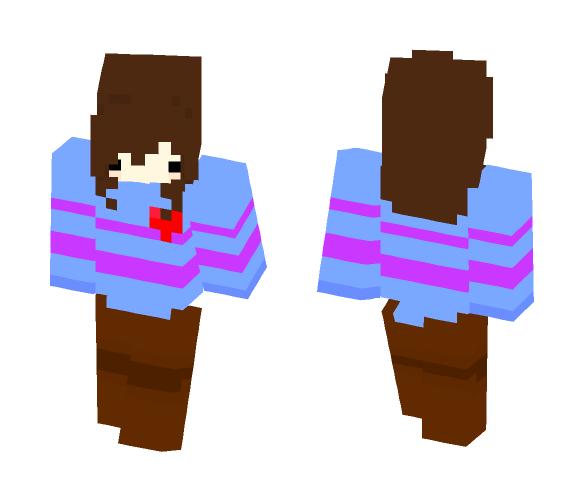 ❤️Frisk - UnderTale❤️ - Interchangeable Minecraft Skins - image 1