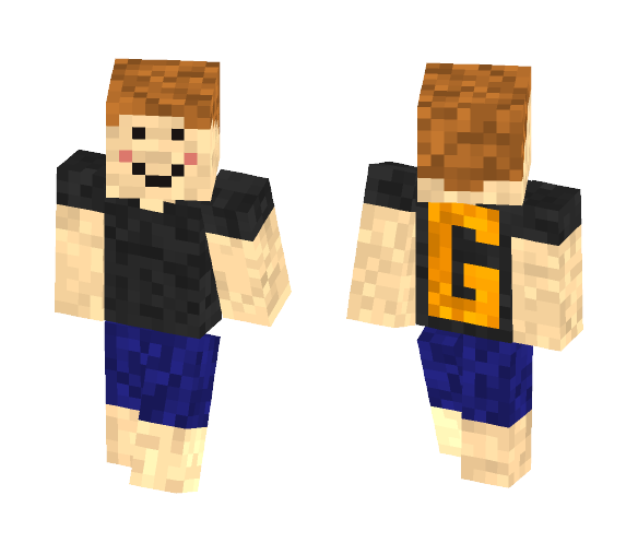 casual G - Male Minecraft Skins - image 1