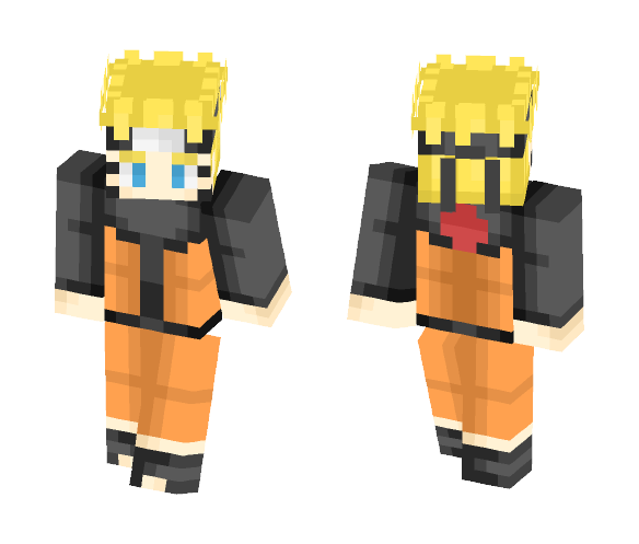 naruto uzumaki - Male Minecraft Skins - image 1