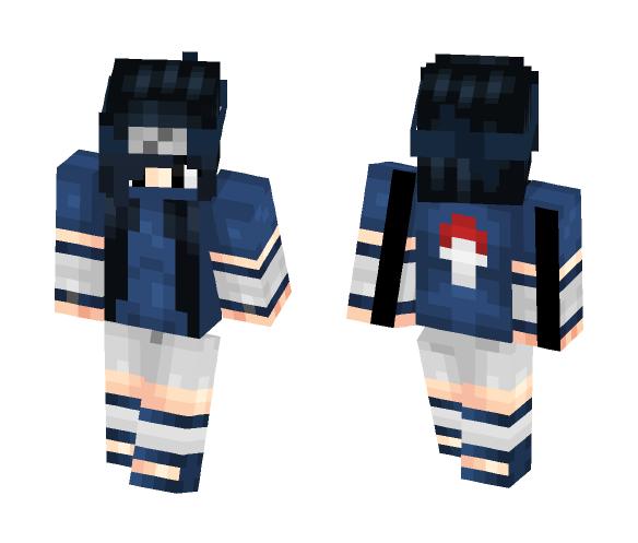 Sasuke Girl - Male Minecraft Skins - image 1