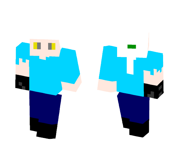 Remake of Demon Swordsman - Male Minecraft Skins - image 1