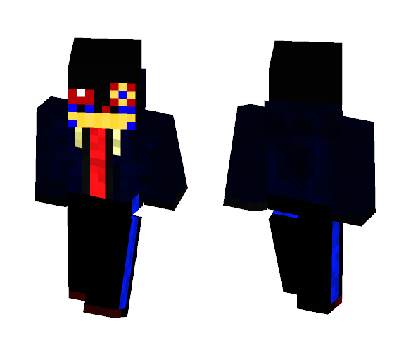 ~ ERROR! Sans ~ - Undertale AU - - Male Minecraft Skins - image 1