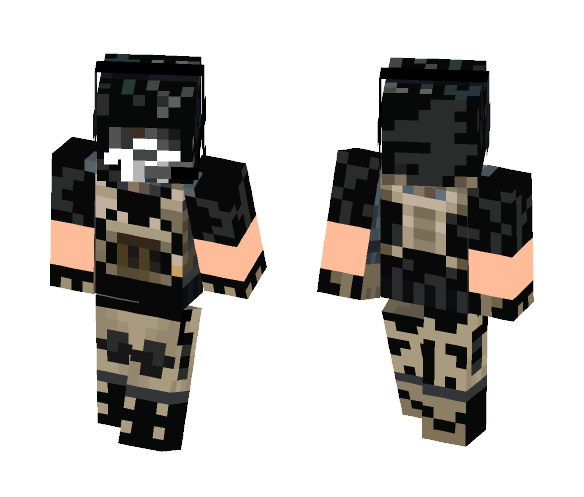 ghost - Male Minecraft Skins - image 1