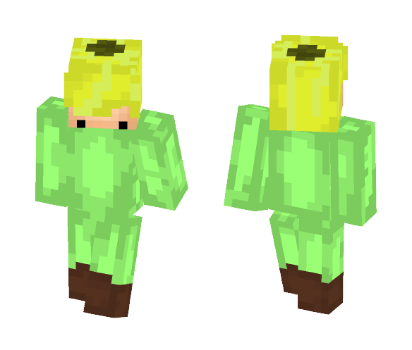 Flower Person ;P - Interchangeable Minecraft Skins - image 1