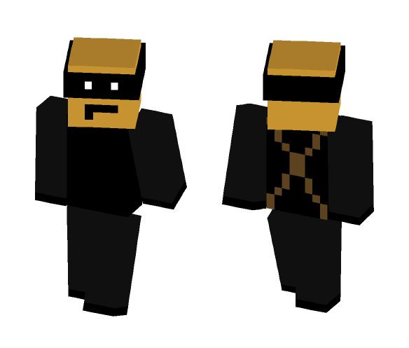 Dark Ninja - Interchangeable Minecraft Skins - image 1
