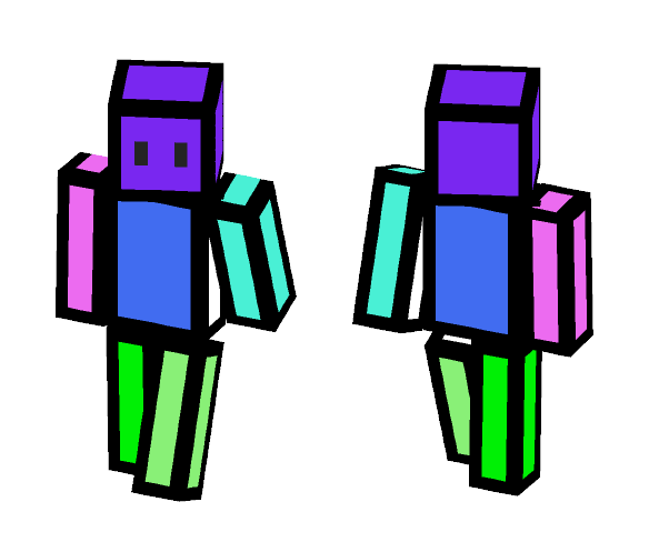 Blocky person - Male Minecraft Skins - image 1