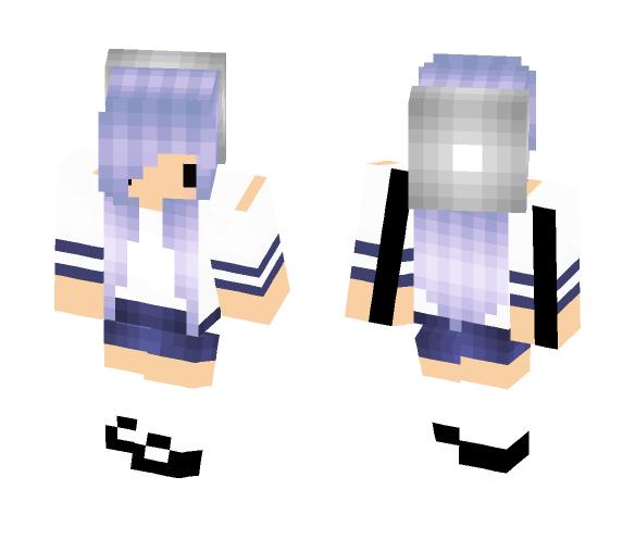 xAliPlay's Yandere Simular RP Skin - Female Minecraft Skins - image 1