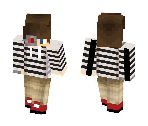 (Cyborg) Skin for CptExoSuit102 - Male Minecraft Skins - image 1