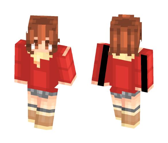 Erased Kayo Hinazuki - Female Minecraft Skins - image 1