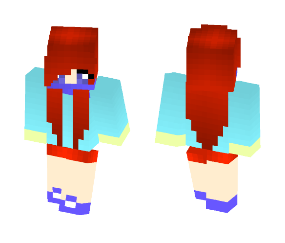 576isChara 2 With Shoes - Female Minecraft Skins - image 1