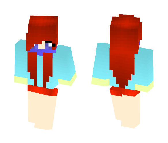 576isChara 2 No shoes? - Female Minecraft Skins - image 1