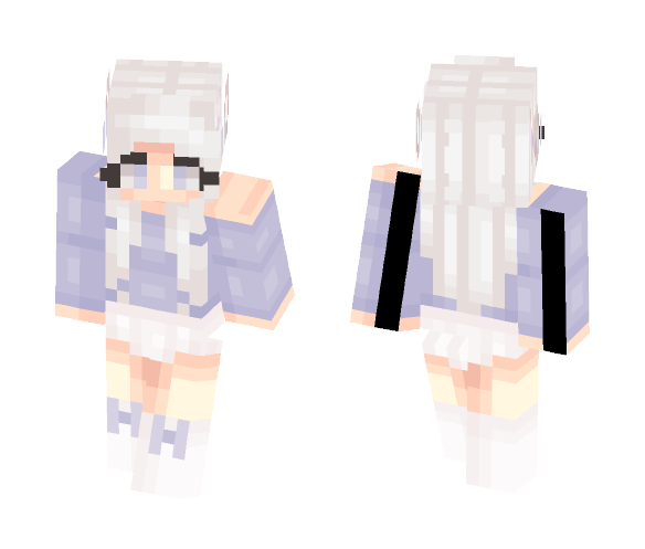 ✧ Silver Kitty - Female Minecraft Skins - image 1