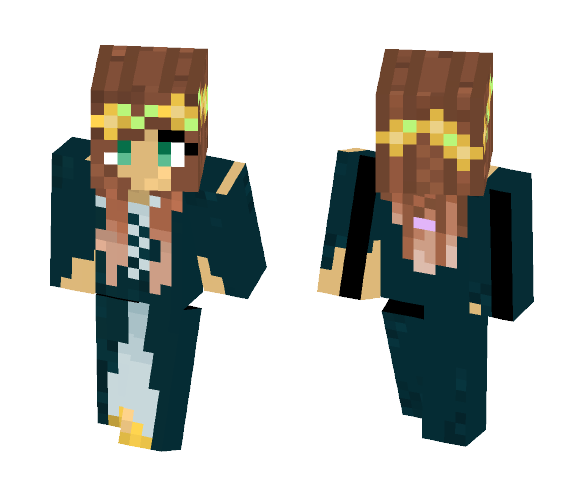 Princess of the Flowers - Female Minecraft Skins - image 1