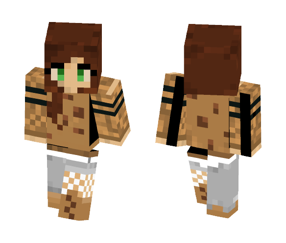 ~Cookie Girl~ - Female Minecraft Skins - image 1