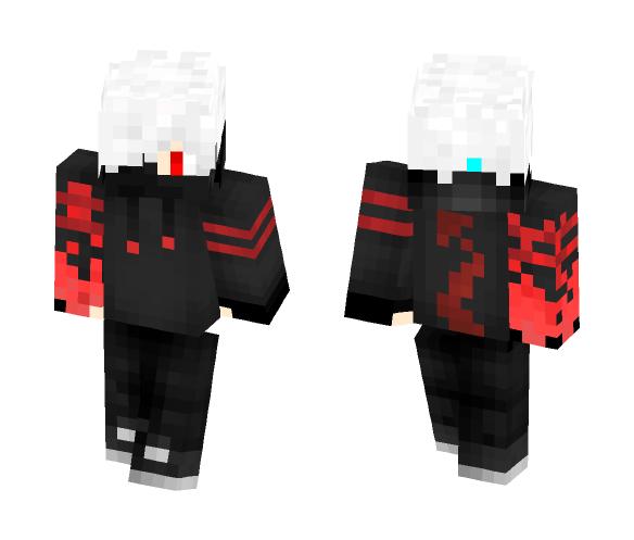 Fire Hand Boy - Male Minecraft Skins - image 1