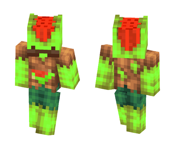 Water Melon Barry - Male Minecraft Skins - image 1