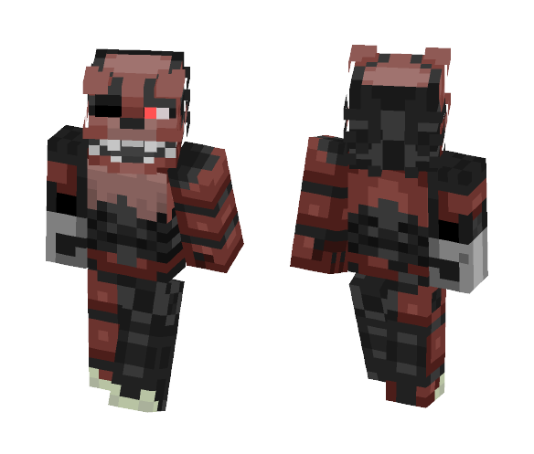 Drawkill Foxy - Male Minecraft Skins - image 1