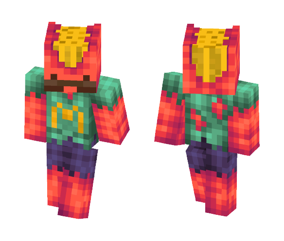 Fries Shawn - Male Minecraft Skins - image 1