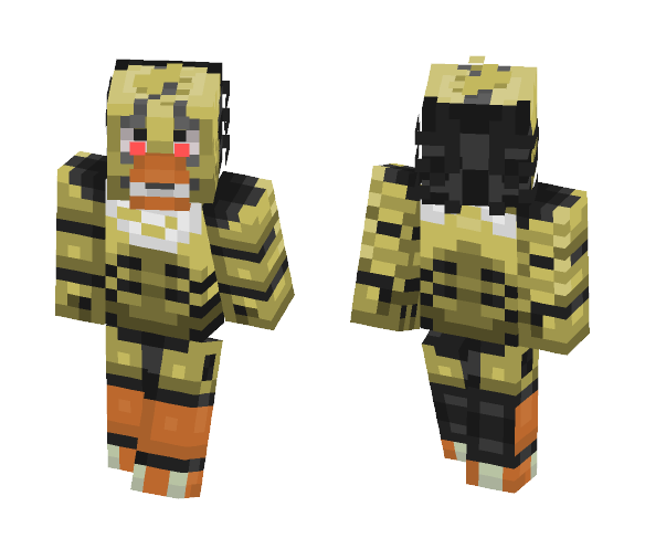Drawkill Chica - Female Minecraft Skins - image 1